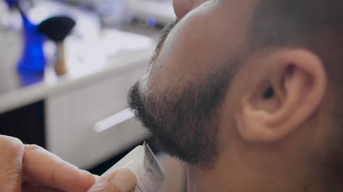 Barber Leveled With a Beard Trimmer