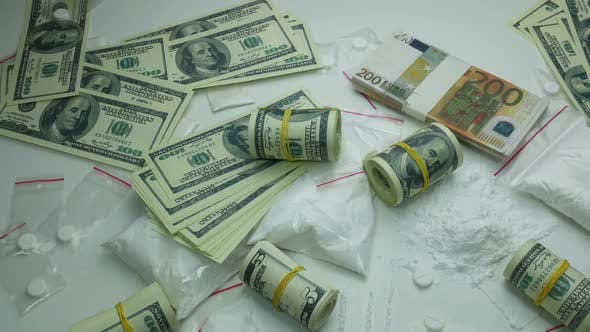Thumbnail for Criminal Financial Profit Of The Drug Cartel From The Sale Of Cocaine And Tablets