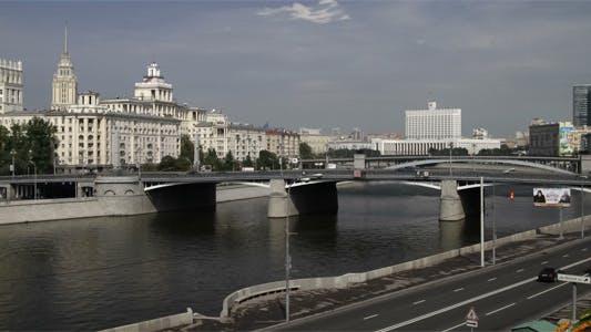 Thumbnail for Moskau, Russland, Ansicht in der Mitte, Zeitraffer