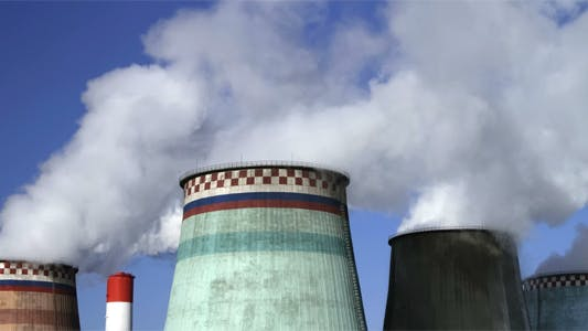 Cooling Towers Of Power Station