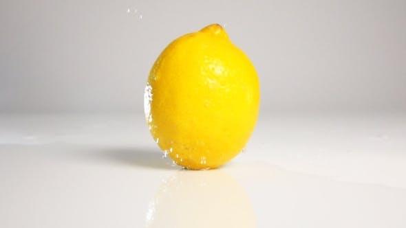 Thumbnail for Lemon Movie Down On White Surface