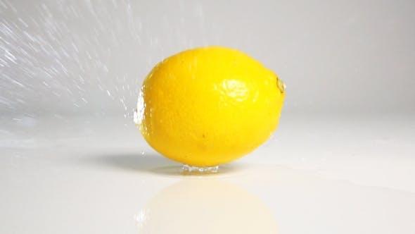 Thumbnail for Lemon Drop Down On White Surface