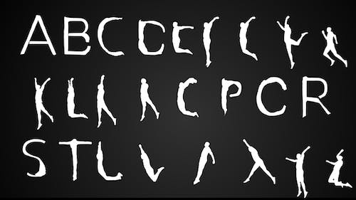 Human Typeface   After Effects Template
