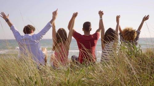 Gruppe Junge Menschen