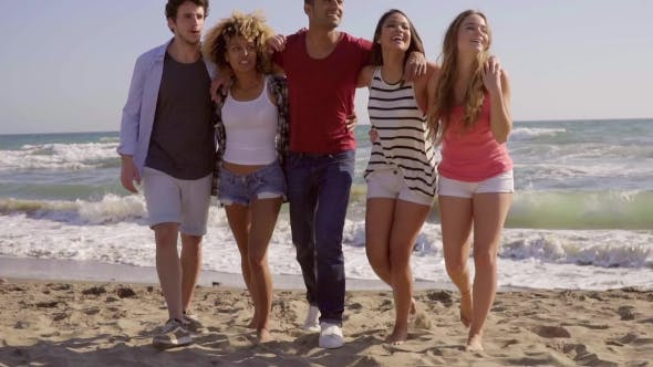 Thumbnail for Young People On The Beach