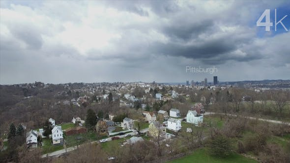 Thumbnail for Dramatic Clouds Over Pittsburgh