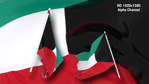 Thumbnail for Flag Transition - Kuwait