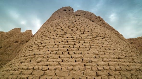 Thumbnail for Brick Wall Of The Ancient City Of Sauran, Kazakhstan