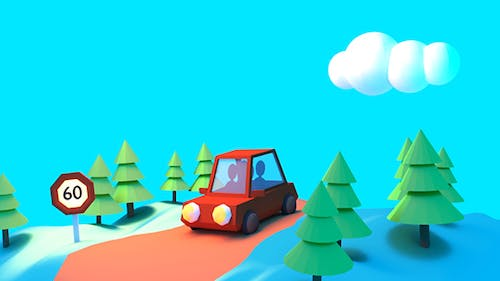Toon Summer Vacation Road Trip