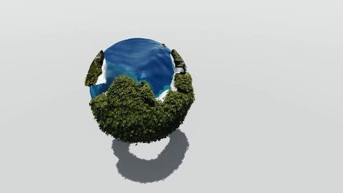 The rotating earth contains nature