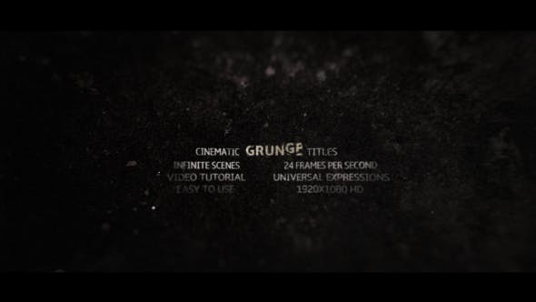 Thumbnail for Grunge Titles