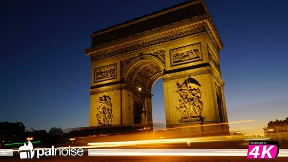 Thumbnail for Arch of Triumph Champs Elysees, Paris France