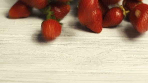 Thumbnail for Strawberry On White Table