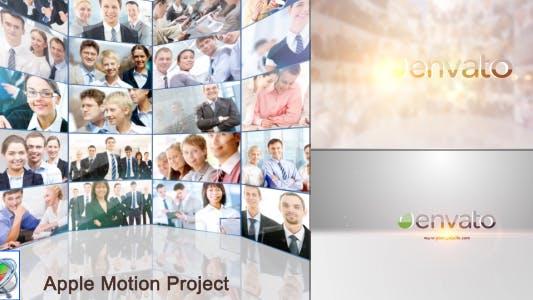 Thumbnail for Multi Video Showcase Logo - Apple Motion
