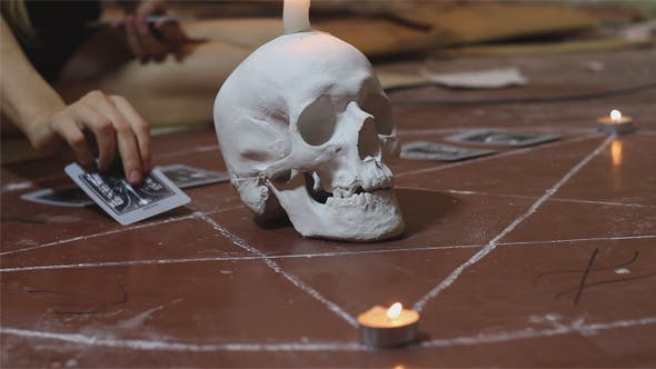 Thumbnail for Satanic Divination by Tarot Cards