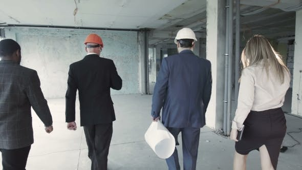 Thumbnail for Investor Accompanied By His Advisers Left The Building After The Inspection