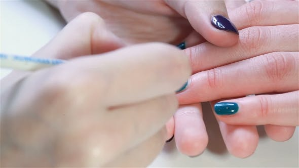 Thumbnail for Manicured And Patterned Nails