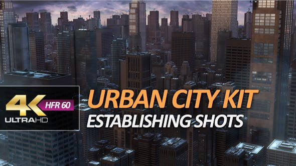Urban City Pack - Establishing Shots