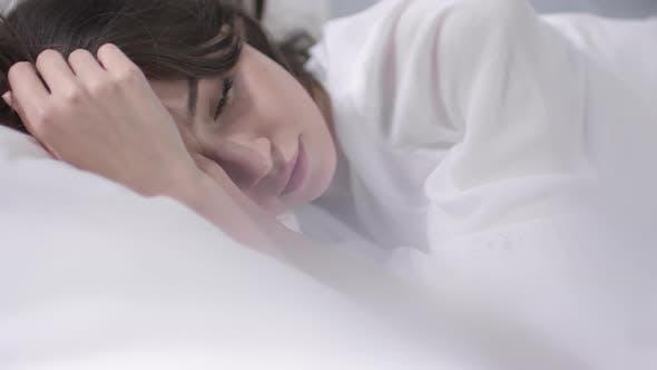 Thumbnail for Beautiful Woman Waking Up