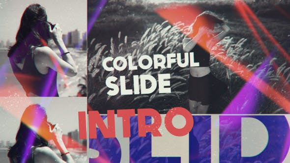 Thumbnail for Colorful Slide Intro