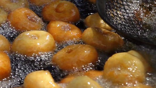 Thumbnail for Traditional Turkish Dessert Donut Lokma 4