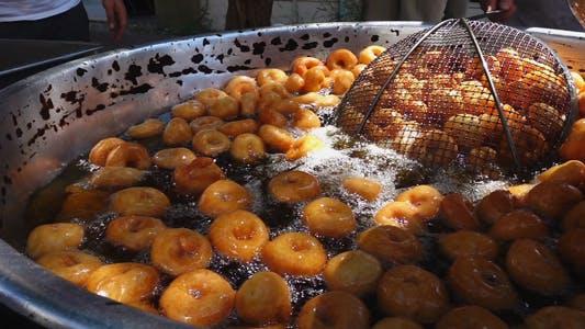 Thumbnail for Traditional Turkish Dessert Donut Lokma 6