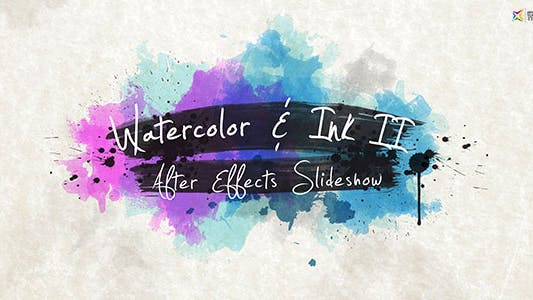 Cover Image for Watercolor & Ink Slideshow 2