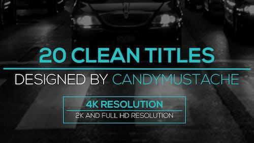 Clean Titles Pack
