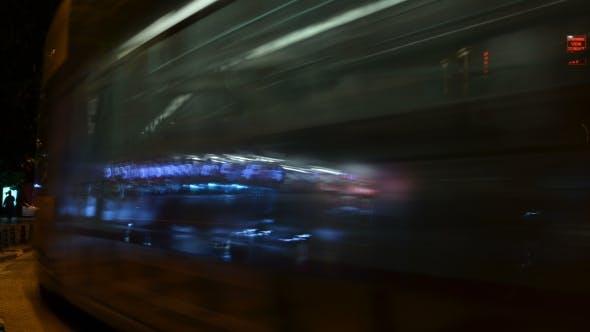 Thumbnail for Night Traffic. Istanbul. Turkey.