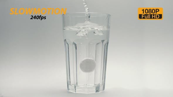 Cover Image for Aspirin Pill In Glass 5