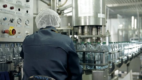Thumbnail for The Control Of a Production Line For Bottling Mineral Water In Bottles
