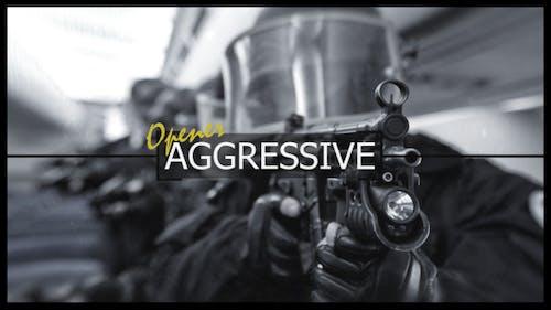 Aggressive Logo