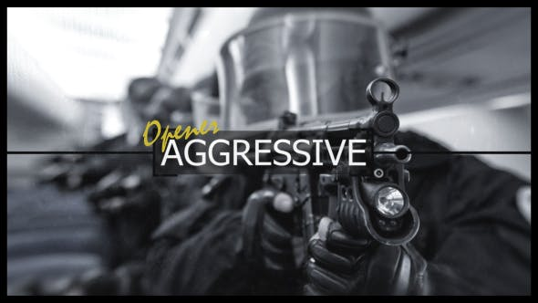 Thumbnail for Aggressive Logo