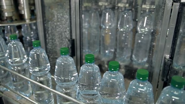 Thumbnail for A Line For Bottling Mineral Water Into Bottles