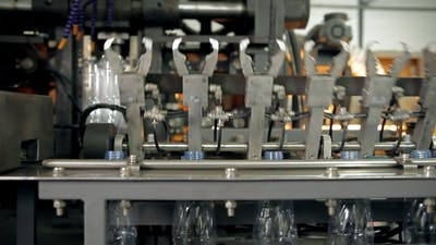 A Manufacturing Of Plastic Bottles For Water