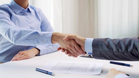 Thumbnail for Business Partners With House Keys And Contract 20