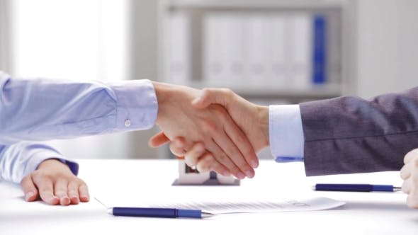 Thumbnail for Business Partners With House Keys And Contract 91