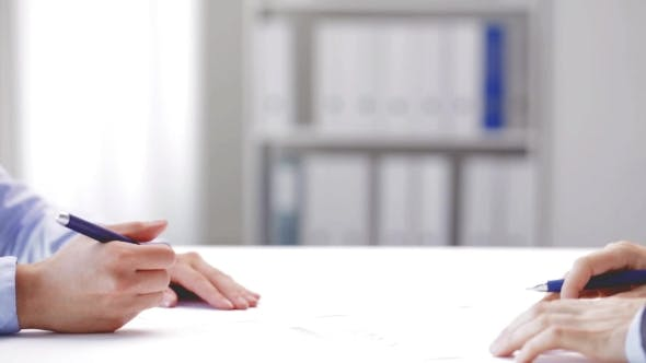 Thumbnail for Business Partners Signing Contract And Shake Hands 88