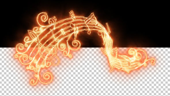 Thumbnail for Burning Music Notes