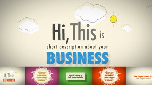 Business, Product or Service Presentation
