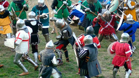 Knights Battle