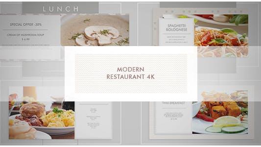 Thumbnail for Modern Restaurant/ New Cafe/ Chef's Burger/ Vegetarian Menu/ Food Promotion/ Street Food Market/ TV