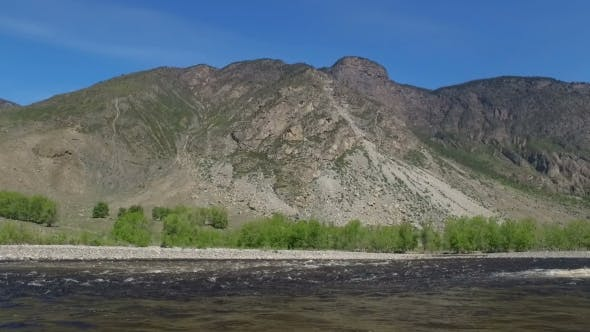 Thumbnail for River In Mountain Valley