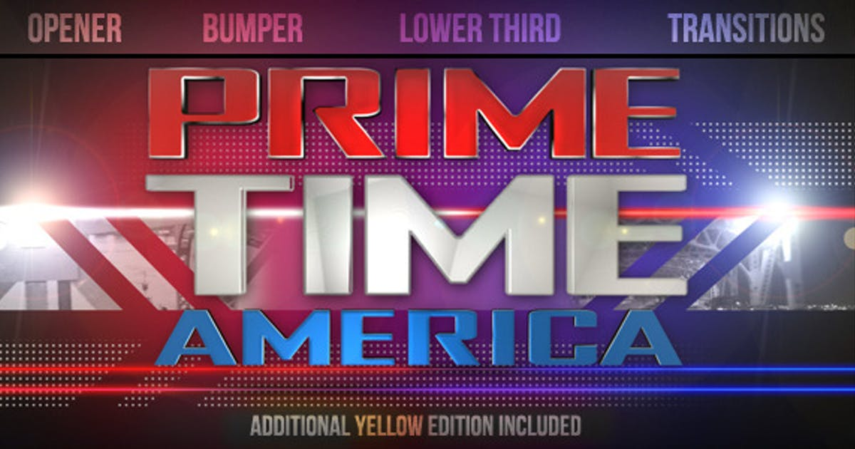 Download Prime Time Show Broadcast Pack by cyzer