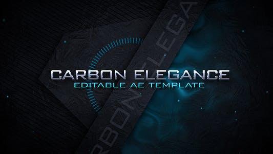 Thumbnail for Carbon Elegance - Logo Intro