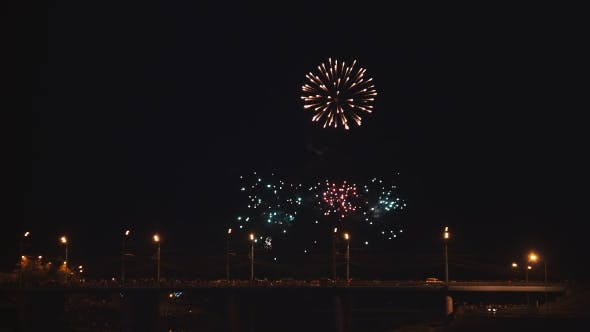 Thumbnail for Fireworks At The City Festival