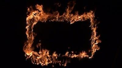 Frame in Fire