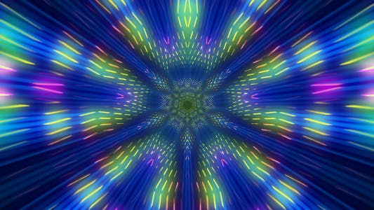 Thumbnail for Colorful Light Rays 05