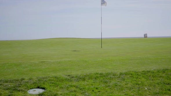 Thumbnail for Flag In Middle Of Golf Course