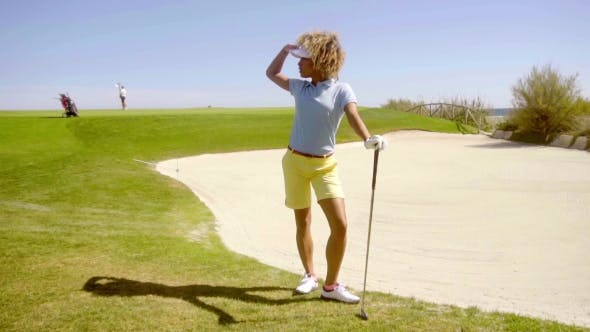 Thumbnail for Athletic Young Woman Golfer